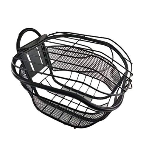 SUIBIAN Vespa eléctrica Adultos Basket, Acero Carrito con Tapa, de instalación rápida...