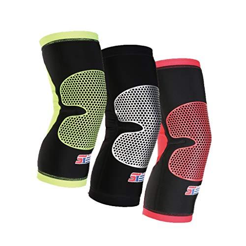 TcooLPE polyestervezel compressiekniebeschermer/verstelbare riem/artritis verlichten loopblessures in de sportschool en beschermen de linker- en rechterknieën van mannen en vrouwen.