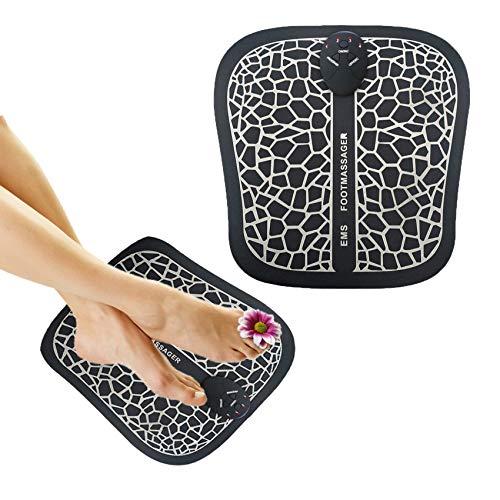 ROOTOK Fußmassageräte ,EMS Elektrisches Fußmassagegerät , Fussmassagegerät Elektrisch,Fußmassage für die Durchblutung Muskelschmerzen Linderung