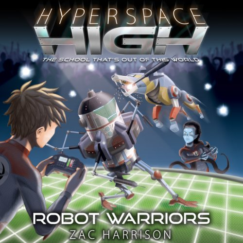 Robot Warriors audiobook cover art