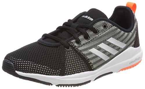 Adidas Arianna Cloudfoam, Zapatillas de Deporte Mujer, Negro (Negbas/Plamet/Naalre 000), 44 EU