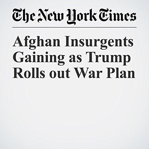 Afghan Insurgents Gaining as Trump Rolls out War Plan copertina