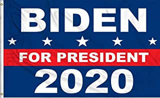 Aimto 3x5 Foot Biden 2020 Flag - Nicely Stitched and Vivid Bright Color