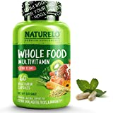 NATURELO Whole Food Multivitamin for Teens - Natural Vitamins/Minerals for Teenage Boys & Girls - Best Supplement for Active Kids - with Organic Extracts - Non-GMO - Vegan/Vegetarian - 60 Capsules from NATURELO