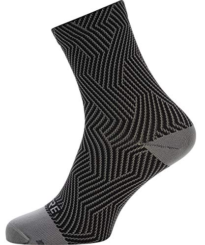 GORE WEAR C3 Unisex Fahrrad-Socken, Größe: 35-37, Farbe: Grau/Schwarz - 4