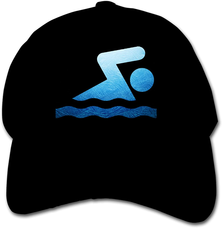 Meiinwan Relaxed Choice Adjustable Baseball Unisex Cap trend rank Platinum Swimmer