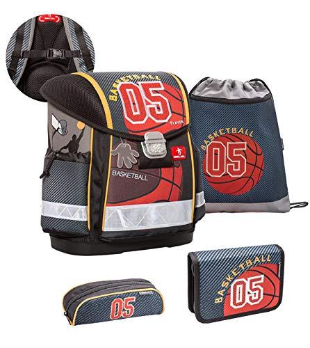 Belmil 403-13 403-13 - Juego de mochila y accesorios escolares (4 piezas, con correa para el pecho)