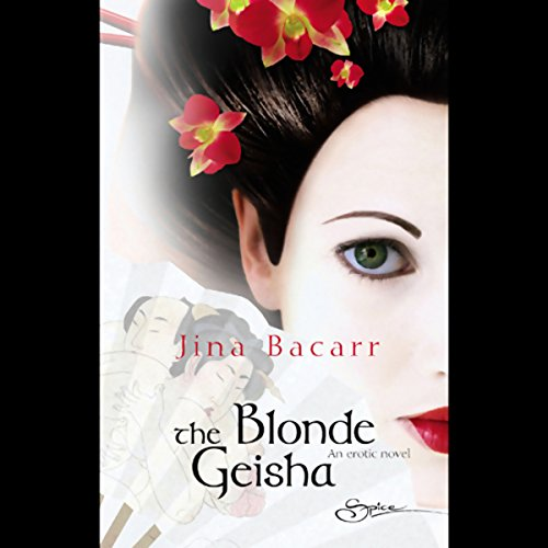 The Blonde Geisha audiobook cover art