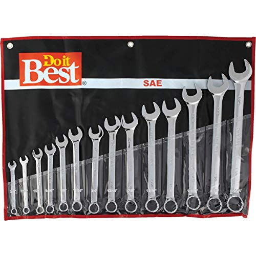 Do it Best Standard 12-Point Combination Wrench Set (14-Piece) - 1 Each