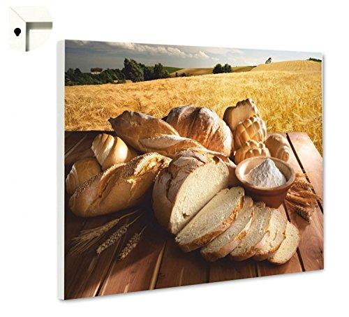 Magneetbord prikbord met motief keuken natuur brood & tarwe