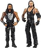 WWE Batalla Wrestlemania figuras de acción Undertaker y Roman Reigns (Mattel FMH65)