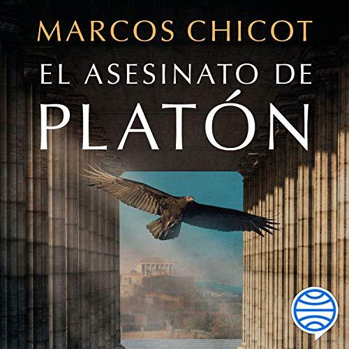 Diseño de la portada del título El asesinato de Platón