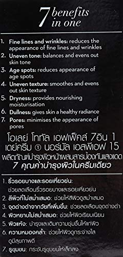 51f98gF XgL - Olay Total Effects 7-in-1 Anti Aging Day Cream Normal, SPF 15 50 Gram