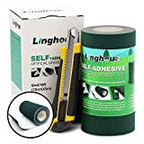 Artificial Turf Tape, Self-Adhesive Artificial Grass Seaming Tape, Synthetic Fake Grass Tape, 6in x 16ft