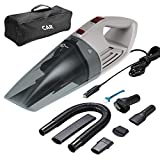 Car Vacuum,Esky Cordless Vacuum Cleaner High Power Wet/Dry Use 5000PA Much Stronger Suction Potable Handheld Auto Vacuum Cleaner with 16.4 Feet Power Cord, Carry Bag, Cleaning Brush