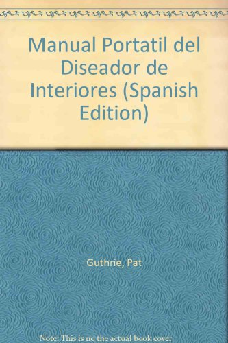 Manual portatil del diseñador de interiores
