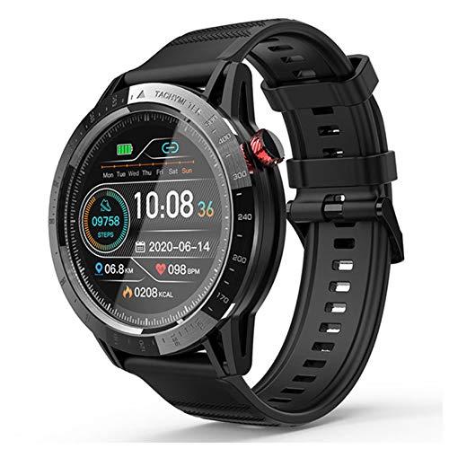 VBF Relojes Inteligentes, Llamadas Bluetooth, Reproducción De Música, Rastreadores De Tarifas Cardíacas, Recordatorios De Mensajes, Smartwatches para Android iOS,B