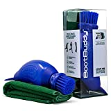 The Boot Buddy - Shoe & Boot Cleaner Brush: Scrub Clean Walking & Hiking Boots, Golf Shoes, Football Boots, Wellies & General Outdoor Footwear & Equipment, in Minutes, Comes with Towel (Blue)