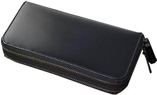 [Decoroso]  かっこいい大人のダブルファスナー長財布 (馬革 CL-1666)