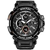 SMAEL Mens Sports Watch, Fashion New Design Watch Analog Digital Watch Sports Wristwatch...