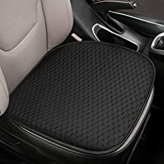 Upgraded Breathable & Comfortable Fabric: The newly upgraded fabric of the Tsumbay car seat cushion is made of is made of mesh eye breathable material. which is more breathable and comfortable than the seats on the marke.It's your perfect choice! Com...