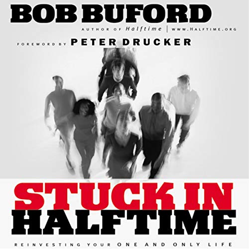Stuck in Halftime audiobook cover art