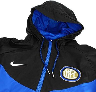 Nike 2017-2018 Inter Milan Authentic Windrunner Jacket (Blue ...