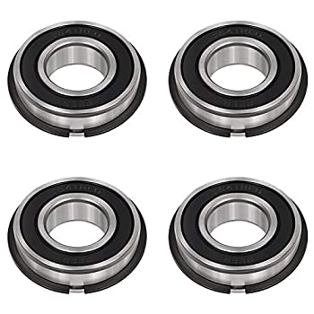 4 Pack Garage Door Torsion Spring Precision Bearings ID 1  x OD 2  Rotating Smooth Quiet High Load and Durable