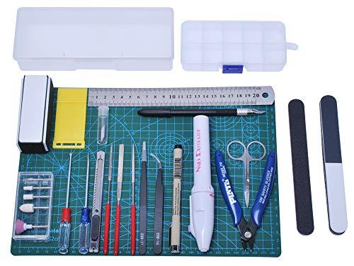 Poweka Kit de Herramientas Básicas para Gundam Modeler, Her