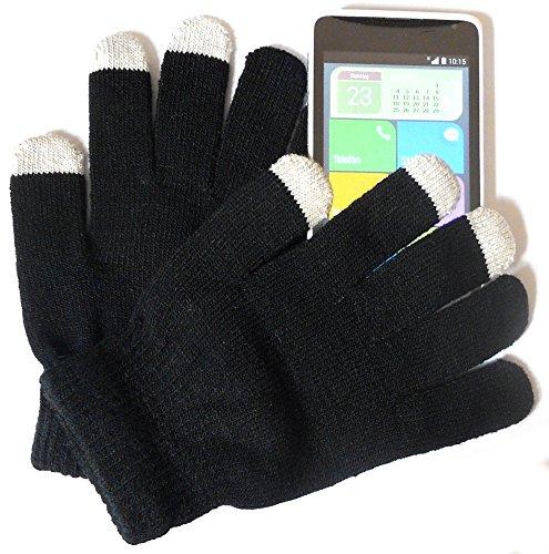 PRESKIN - Guantes de Invierno Calientes de Colores con función de Smartphone, Hombres y Mujeres, teléfono móvil para la Pantalla táctil/Display de la Tableta y la navegación, contra el frío