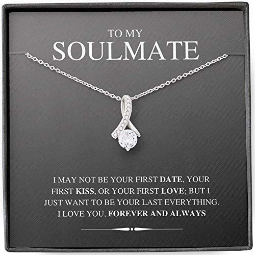 Fa Gifts to My Future Wife Necklace to my Wife Necklaces For Wife From Husband With Message product image