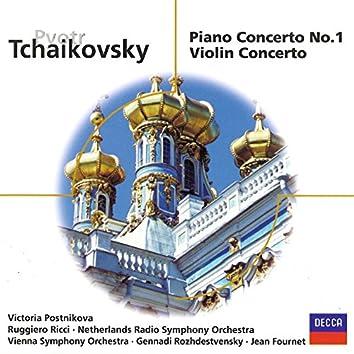 Tchaikovsky: Piano Concerto No.1; Violin Concerto