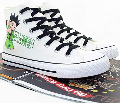 Telacos Hunter X Hunter GON Freecss Cosplay Shoes Canvas Shoes Sneakers