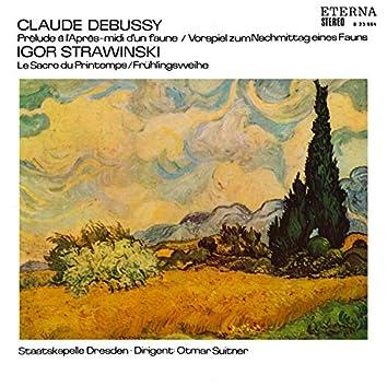 Debussy: Prélude à L'Après-midi d'un faune / Stravinsky: Le Sacre du printemps
