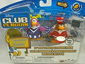 UNIQUE Disney Club Penguin RARE MARCHING BAND MEMBER + CHEERLEADER and RARE MUSIC STAND - 2