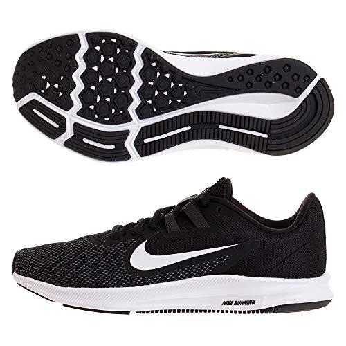 Nike Women's Downshifter 9 Sneaker, Black/White-Anthracite-Cool Grey, 8 Regular US