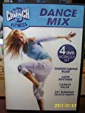 Crunch Fitness Dance Mix 4 DVD Workout set Include