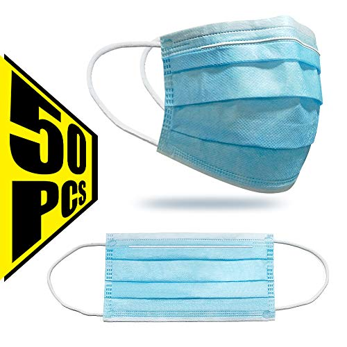 50 pcs Face Cover Disposable Mouth Cover