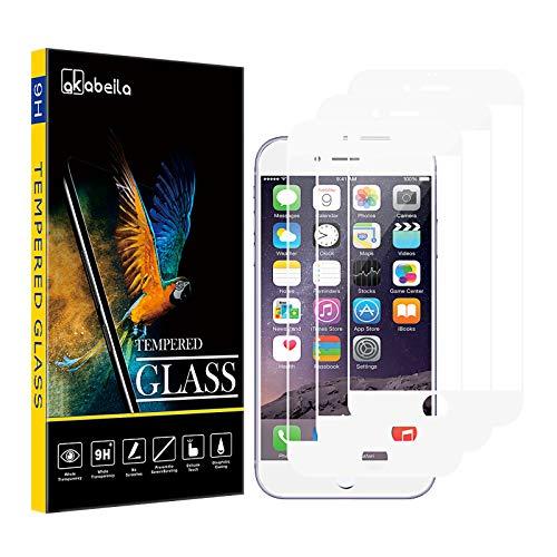 AKABEILA Cristal Templado Compatible para iPhone 6S Plus Protector de Pantalla para...