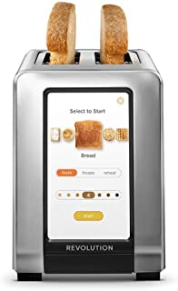 Revolution Cooking R180 High-Speed 2-Slice Stainless Steel Smart Toaster - The Only Toaster with InstaGlo™ Technology