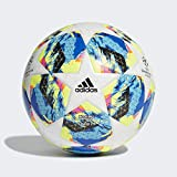 adidas Finale TT J290 Ballons Match Football Boy, Top:White/Bright Cyan/Solar Yellow/Shock Pink...
