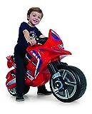 INJUSA- Moto correpasillos Hawk Color Rojo para Niños de más de 3 años...