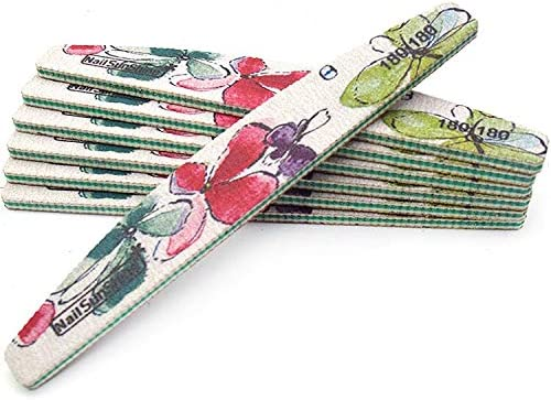 Nail Files Bufers Max 76% OFF 20Pcs Double Art low-pricing File Grinding UV Sidede