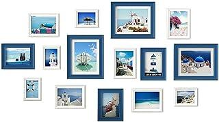 LONGWDS Marco de Fotos Foto Foto de la Pared la Pared del Marco de impresión fotográfica Foto de la Pared Foto Muro Estado...