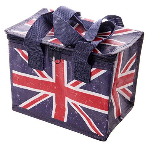 Borsa termica Frigo per il Pranzo Ted Smith con Bandiera Inglese Union Jack