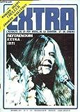 EXTRA - N°11 - OCTOBRE 1971 / JANIS JOPLIN / JOE COCKER / DEMIS ROUSSOS / DELANEY & BONNIE & FRIENDS / GEORGE HARRISON / etc (livré sans le poster Géant).