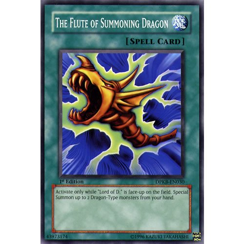 DPKB-EN030 Unlimited Ed The Flute of Summoning Dragon Common Card Kaiba...