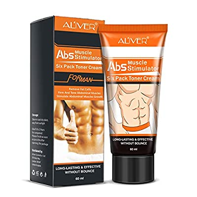 Hot Slimming Cream, Abs Muscle Firming Liposuction Body Sweat Slim Cream, Anti-Cellulite Abdomen Buttocks Burning Massage Gel Weight Lossing Body Shaping from Shangmao