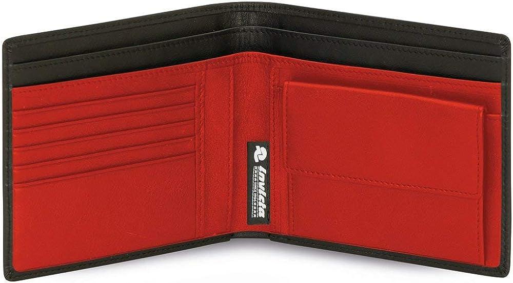 Invicta,portafoglio con portamonete per uomo,in pelle 306031929-BH5