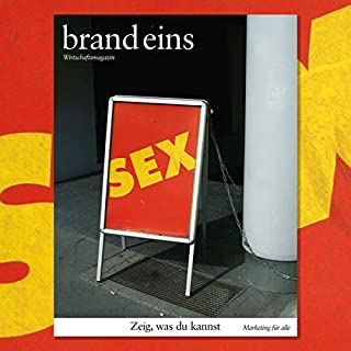 brand eins audio: Marketing für alle Titelbild